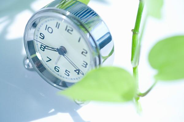 施術は1時間。継続利用で効果アップ
